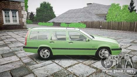 Volvo 850 Turbo 1996 para GTA 4 vista lateral