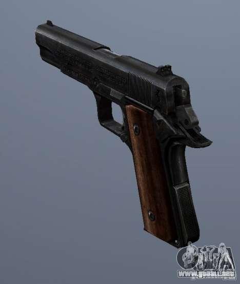M1911 para GTA San Andreas segunda pantalla