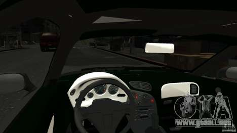 Mazda RX7 1995 Stock [EPM] para GTA 4 vista interior