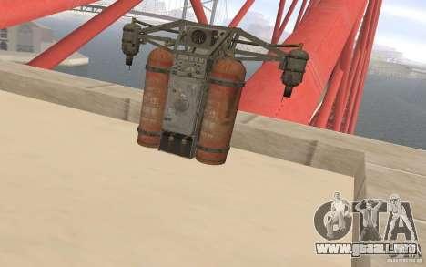 Jetpack en el estilo de la URSS para GTA San Andreas