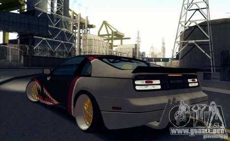 Nissan 300ZX Bad Shark para la visión correcta GTA San Andreas