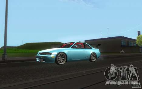 Nissan Silvia S14 Zenkitron para GTA San Andreas left