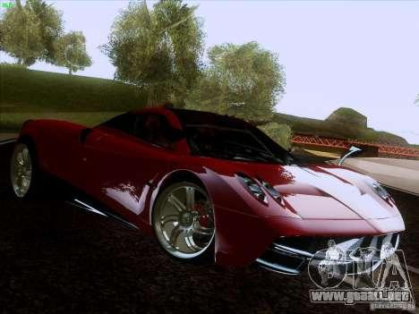 Pagani Huayra 2012 para GTA San Andreas left