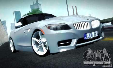 BMW Z4 Stock 2010 para GTA San Andreas left