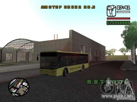 LAZ presentada (SitiLAZ 10) para GTA San Andreas