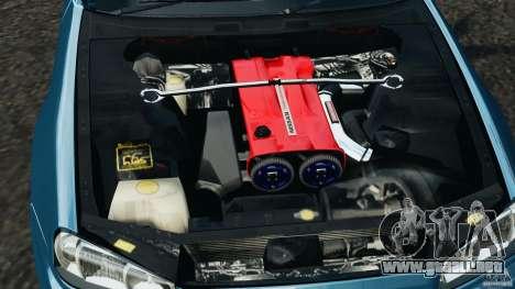 Nissan Skyline GT-R R34 2002 v1.0 para GTA 4 vista superior