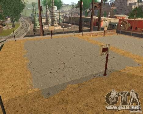 Textura de la cancha de baloncesto para GTA San Andreas quinta pantalla