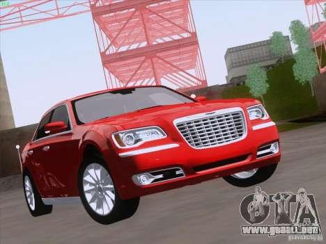 Chrysler 300 Limited 2013 para GTA San Andreas left