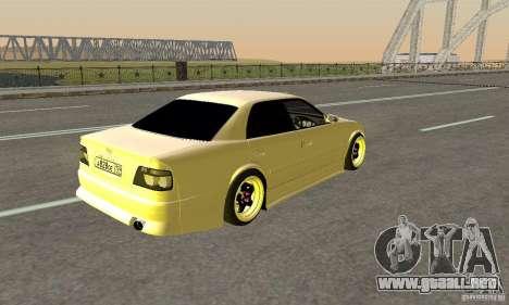 Toyoyta Chaser jzx100 para GTA San Andreas left