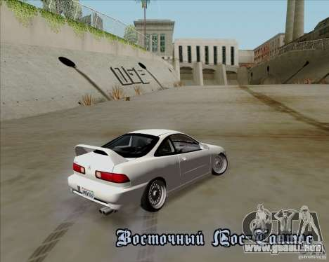 Acura Integra para visión interna GTA San Andreas