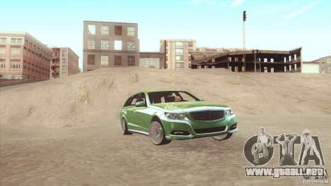 Mercedes-Benz E-Class Estate S212 para GTA San Andreas left