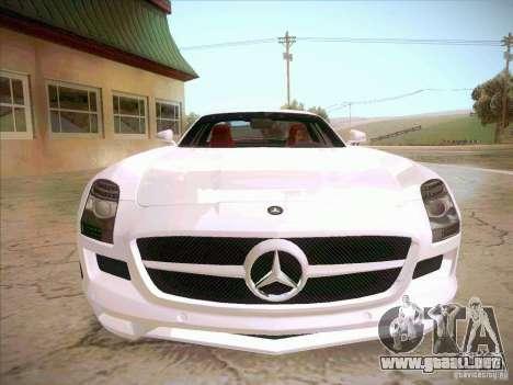 Mercedes-Benz SLS AMG 2010 Hamann Design para GTA San Andreas vista hacia atrás