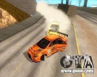 Manejo Mod para SA: MP para GTA San Andreas sucesivamente de pantalla