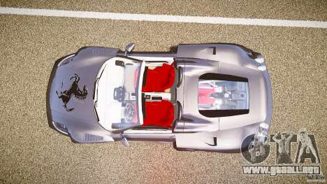 Ferrari F430 Extreme Tuning para GTA 4 vista hacia atrás