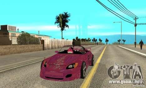Honda S2000 The Fast and Furious para GTA San Andreas