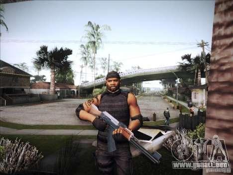 The Expendables para GTA San Andreas quinta pantalla