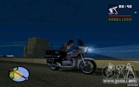 LG Optimus X2 para GTA San Andreas tercera pantalla