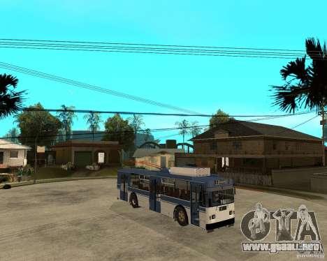 ZiU 52642 para la visión correcta GTA San Andreas
