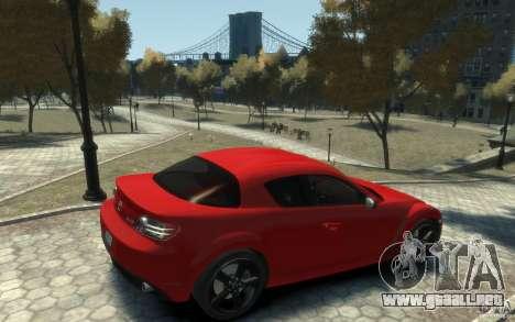 Mazda RX-8 (2006) para GTA 4 visión correcta