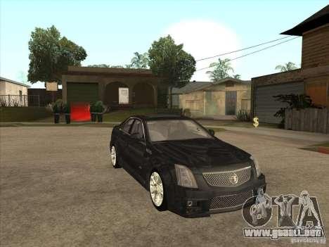 Cadillac CTS-V 2009 para GTA San Andreas