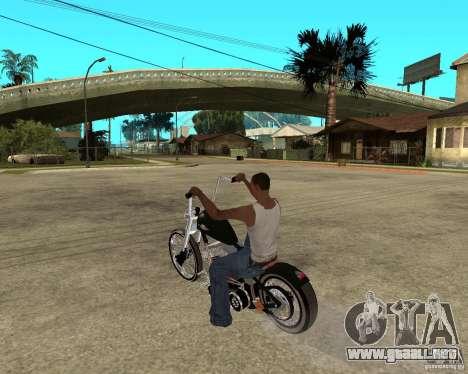 C&C chopeur para GTA San Andreas left