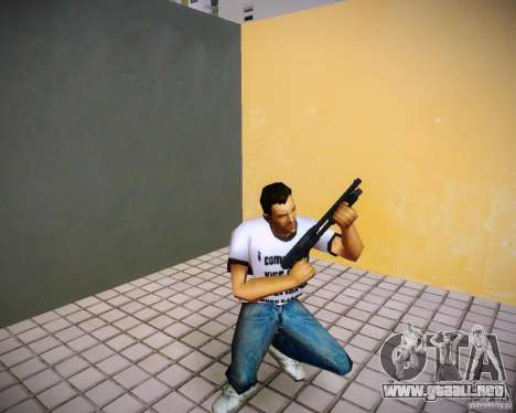 Pak armas de GTA4 para GTA Vice City sucesivamente de pantalla