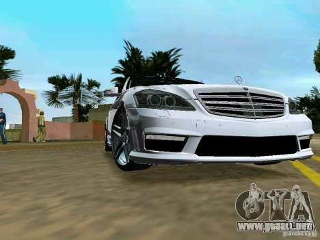 Mercedes-Benz S65 AMG 2012 para GTA Vice City vista lateral izquierdo