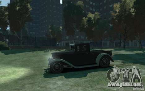 Ford Pickup 1930 para GTA 4 left