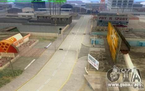 Caminos concretos de Los Santos Beta para GTA San Andreas undécima de pantalla