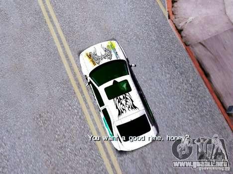 Ford Escort RS 92 Hella para la visión correcta GTA San Andreas
