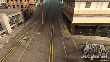 New HQ Roads para GTA San Andreas tercera pantalla