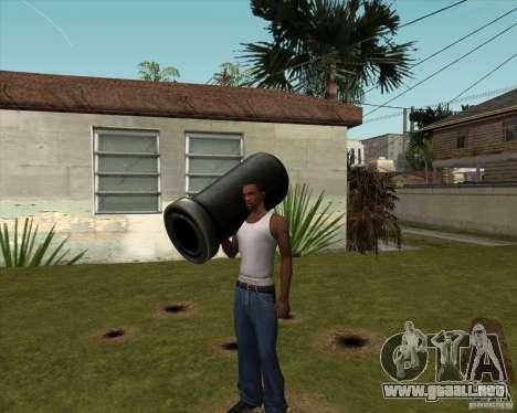 Cañón de Serious Sam para GTA San Andreas