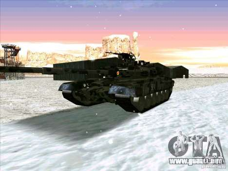 T-90 de Battlefield 3 para GTA San Andreas left