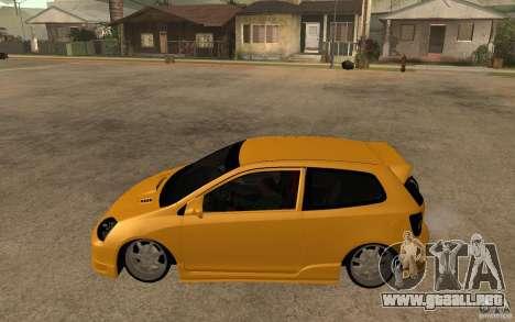 Honda Civic Type-R EP3 para GTA San Andreas left