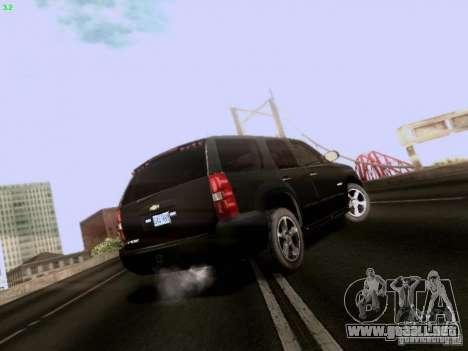 Chevrolet Tahoe 2009 Unmarked para la visión correcta GTA San Andreas