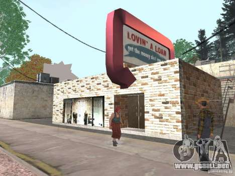 Pueblo de Angel Pine modificado para GTA San Andreas tercera pantalla