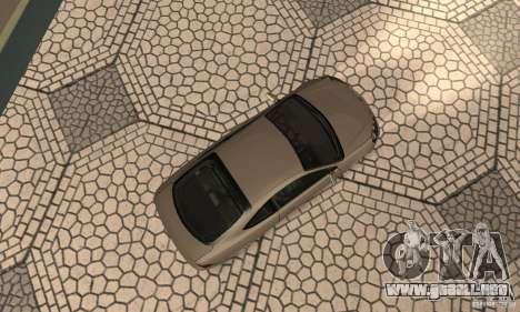 Acura RSX New para GTA San Andreas vista hacia atrás