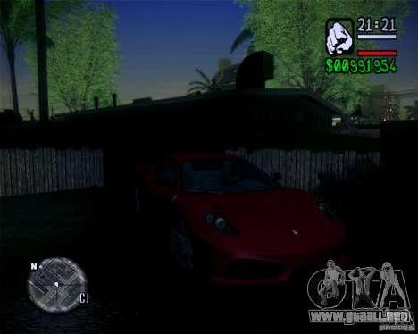 New Fonts 2011 para GTA San Andreas sucesivamente de pantalla