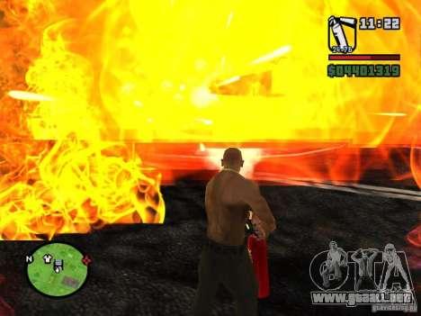 Nuevo extintor para GTA San Andreas tercera pantalla