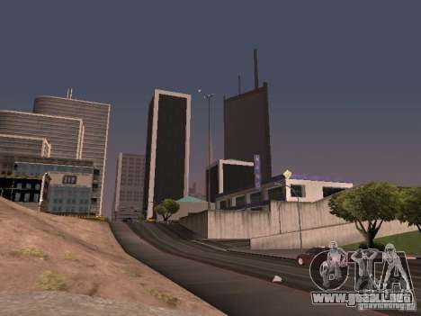 Weather manager para GTA San Andreas quinta pantalla
