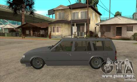 Volvo 945 Wentworth R para GTA San Andreas left
