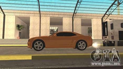 Chevrolet Camaro SS 2010 v2.0 Final para la visión correcta GTA San Andreas