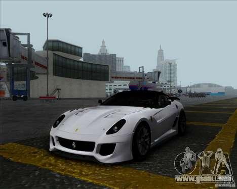 Ferrari Challenge-2009 599XX para GTA San Andreas