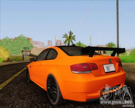 BMW M3 GT-S para GTA San Andreas left