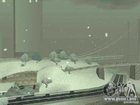 Nieve v 2.0 para GTA San Andreas séptima pantalla