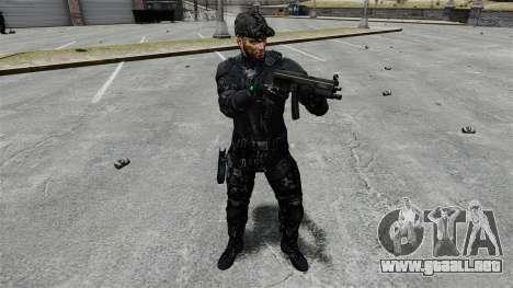 Sam Fisher v9 para GTA 4 adelante de pantalla