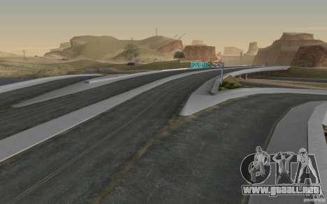 HD Road v 2.0 Final para GTA San Andreas quinta pantalla
