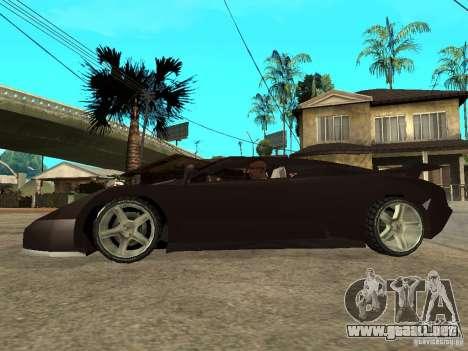 Buggati EB110 para GTA San Andreas left