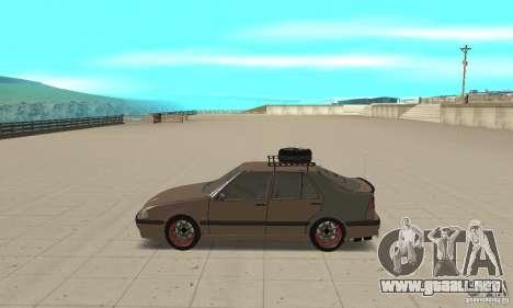 Saab 9000 GT Drifting 1998 para GTA San Andreas left