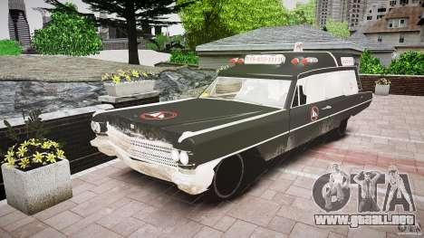 Cadillac Wildlife Control para GTA 4 Vista posterior izquierda